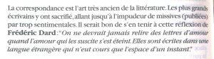 Les écrits de l'image n°23 Réflexion Frédéric Dard