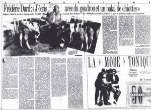 Libération n°2193 article sur San-Antonio