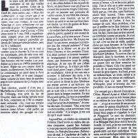 Libération n°2193 article sur San-Antonio - début