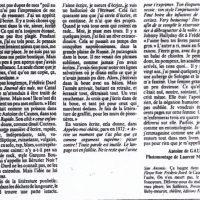 Libération n°2193 article sur San-Antonio fin