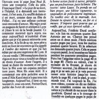 Libération n°2193 article sur San-Antonio - milieu
