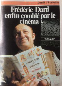Télé Star n°210 article Dard