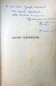 dedicace chaverot dans Saint Gengoul