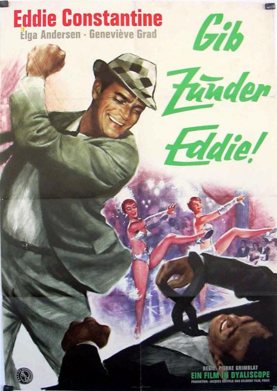Affiche Gib Zunder Eddie