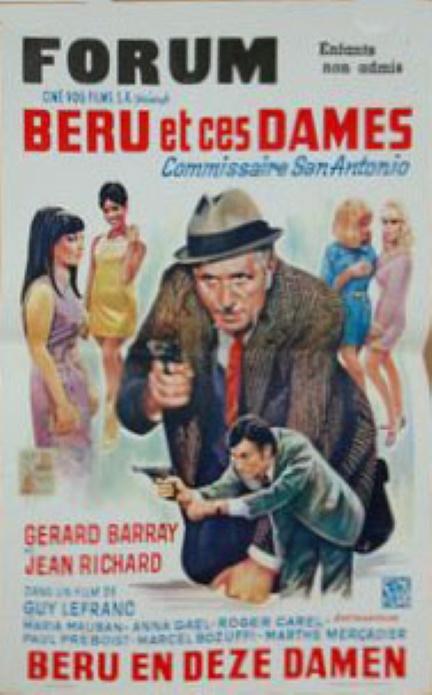 Affiche-belge-Béru-et-ces-dames