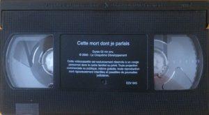 Cette mort dont je parlais cassette VHS