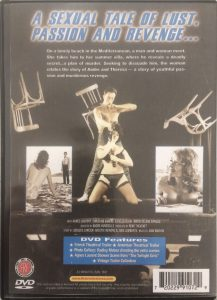 DVD Tentations back