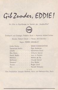 Gib Zunder Eddie n°3029 intérieur 1