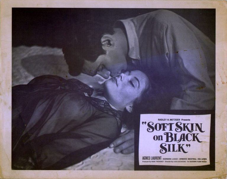 Lobby Card soft skin on black silk