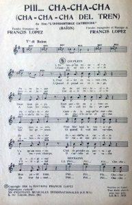 Partition musicale L'irrésistible Catherine intérieur 1