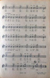 Partition musicale L'irrésistible Catherine intérieur 2