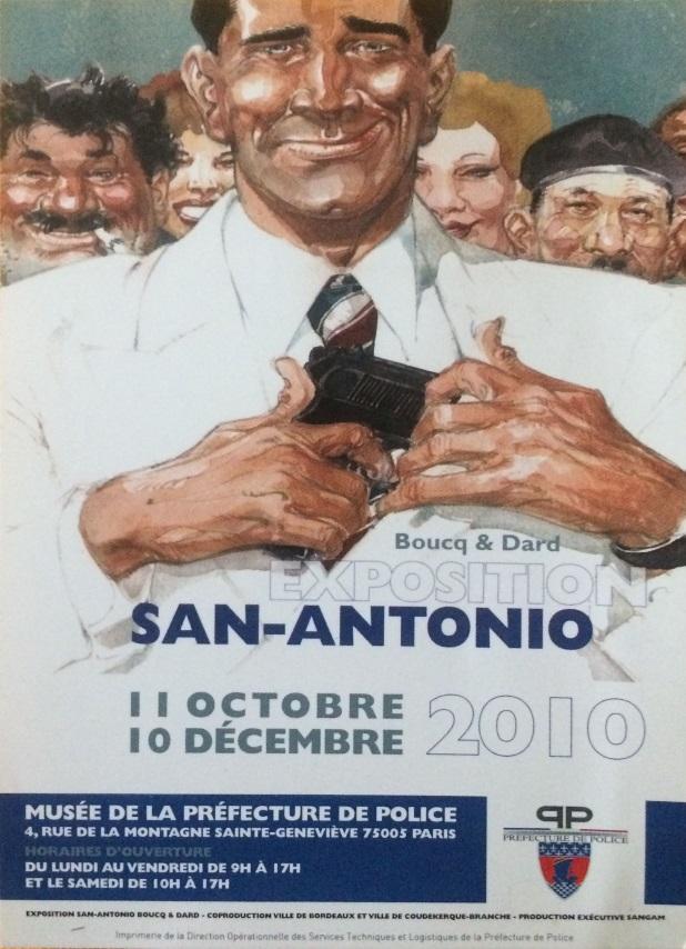 Exposition San-Antonio Paris 2010