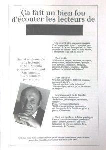 Fleuve Noir 50 ans d'édition populaire enquête lecteurs