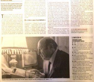 Le Dauphiné libéré 8 août 2017 bas article