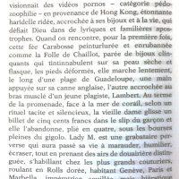 Littérature vagabonde 1995 F Dard p 5