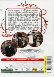 dvd l'affaire d'une nuit back