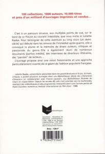 juliette Raabe 50 ans d'édition populaire back