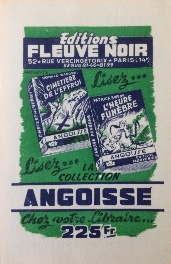 pub collection angoisse