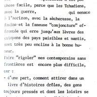 L'humour populaire tchadien intro 0
