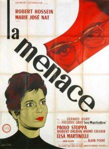 la menace affiche française