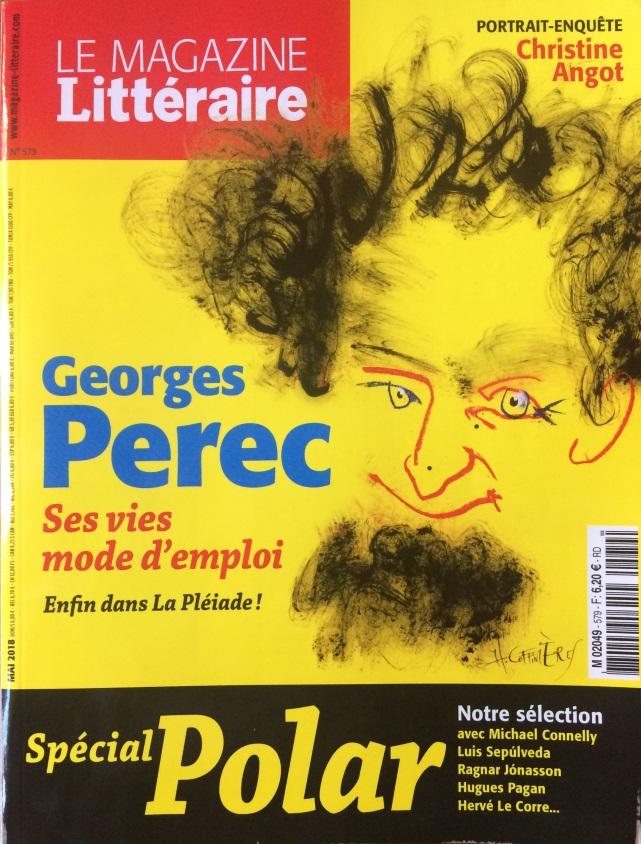 Le magazine littéraire n°579