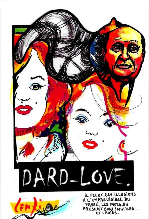 CPM Jihel LENZI Frédéric DARD San Antonio Marilyn MONROE dard love 2