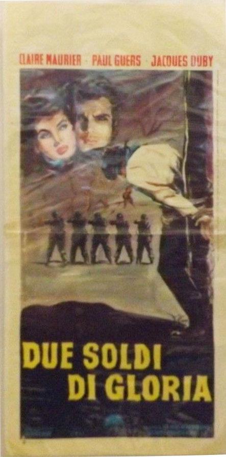 Affiche cinéma Due soldi di gloria -Une gueule comme la mienne