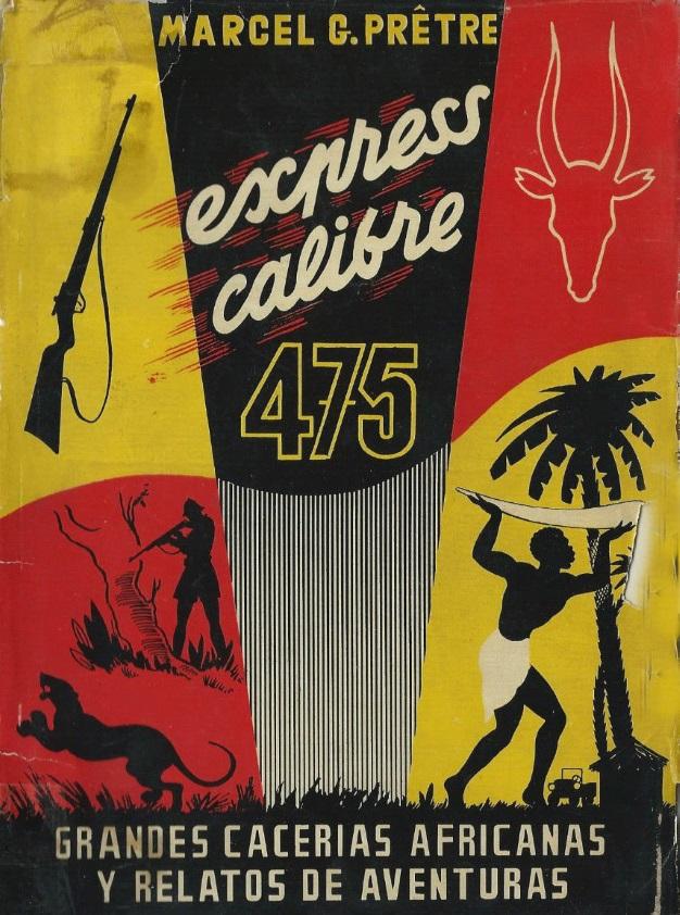 Jaquette calibre 475 express en espagnol