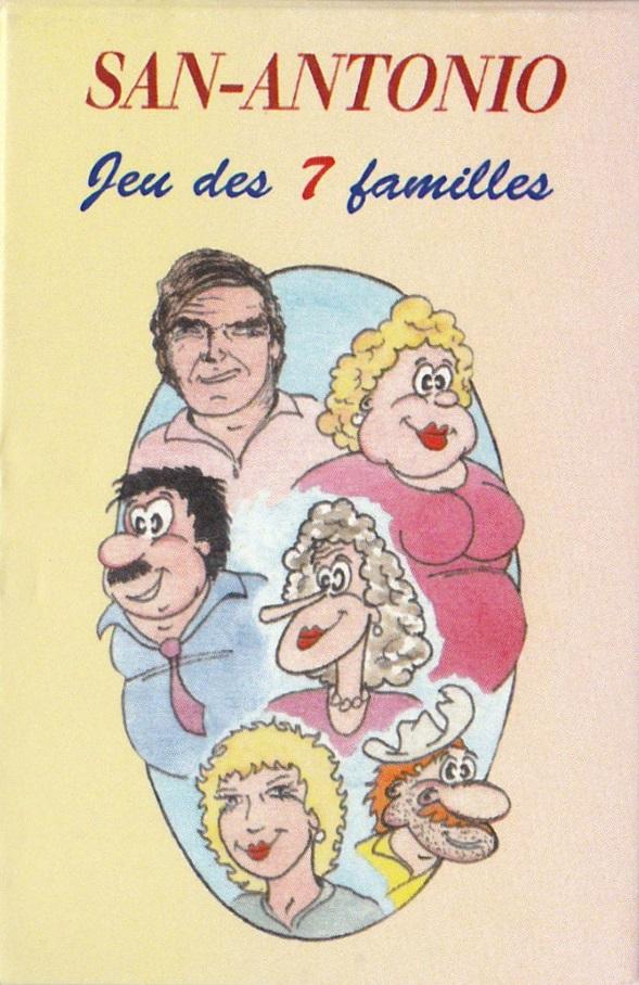 jeu 7 familles San-Antonio