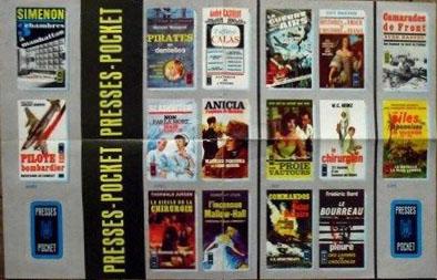 publicité papier Presses Pocket verso