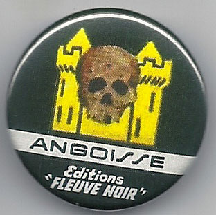 Pin's Frédéric Dard Collection Angoisse)