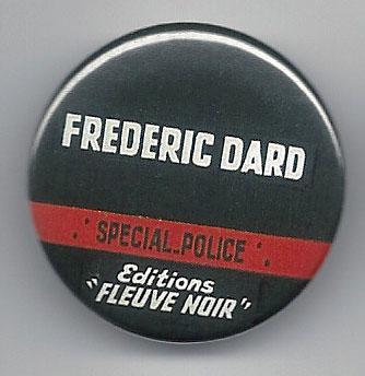 Pin's Frédéric Dard Fleuve Noir