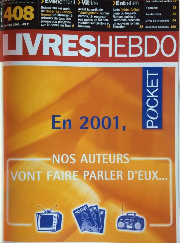 Livres Hebdo n°408