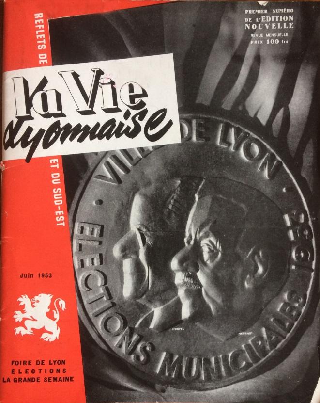 Reflets de la vie lyonnaise et du Sud-EST juin 1953