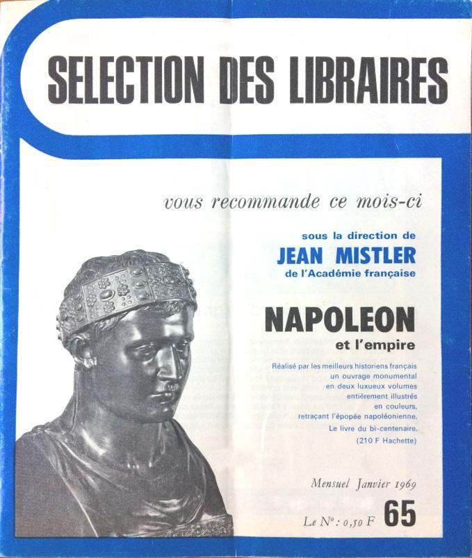 Sélection des libraires n°65