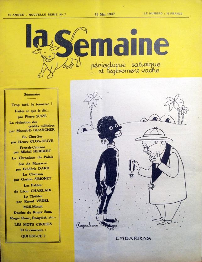 La Semaine n°8 ns 15 mai 1947