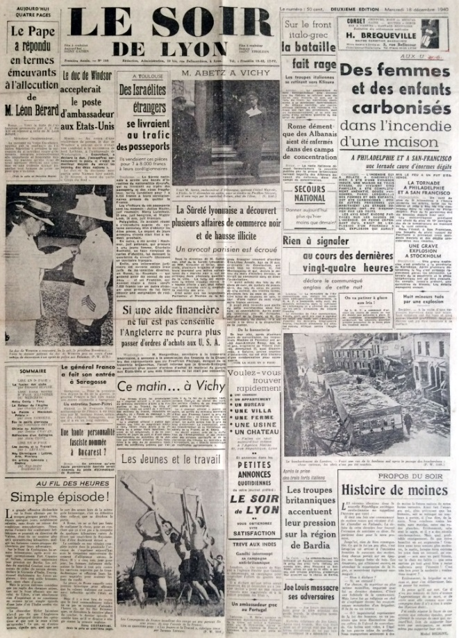 Le Soir de Lyon n°198