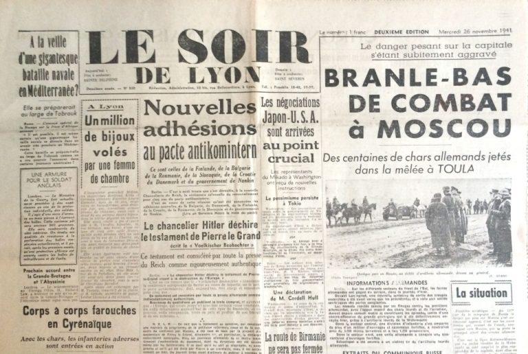 Le Soir de Lyon n°530