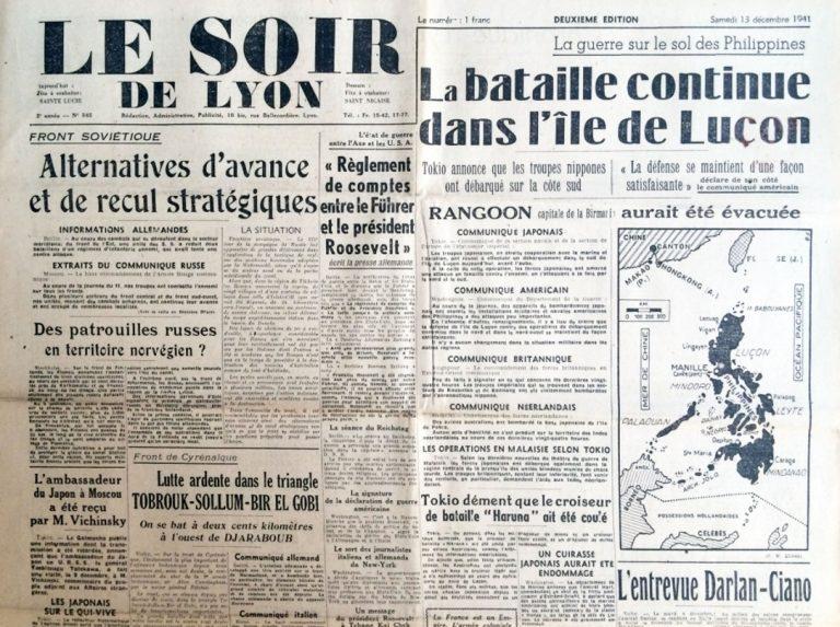 Le Soir de Lyon n°545