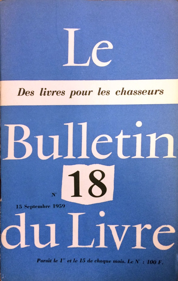 Le bulletin du livre n°18