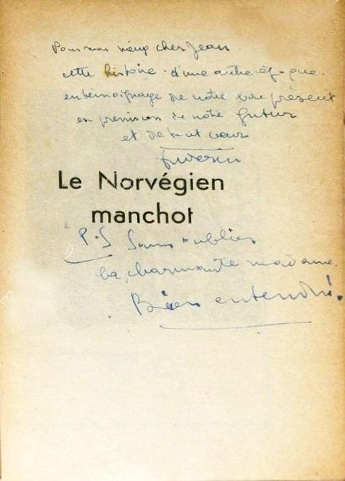 dedicace le norvégien Chabran