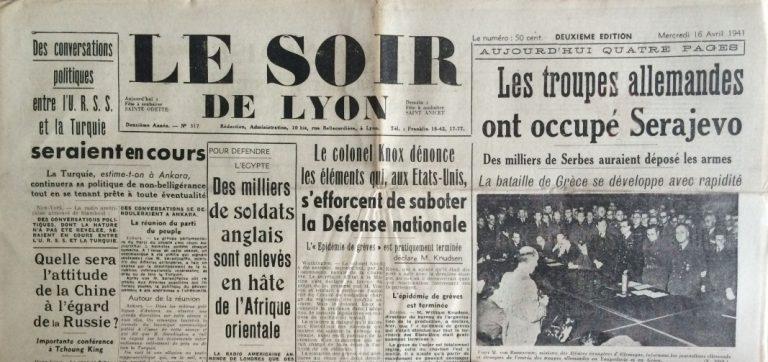 Le Soir de Lyon n°317