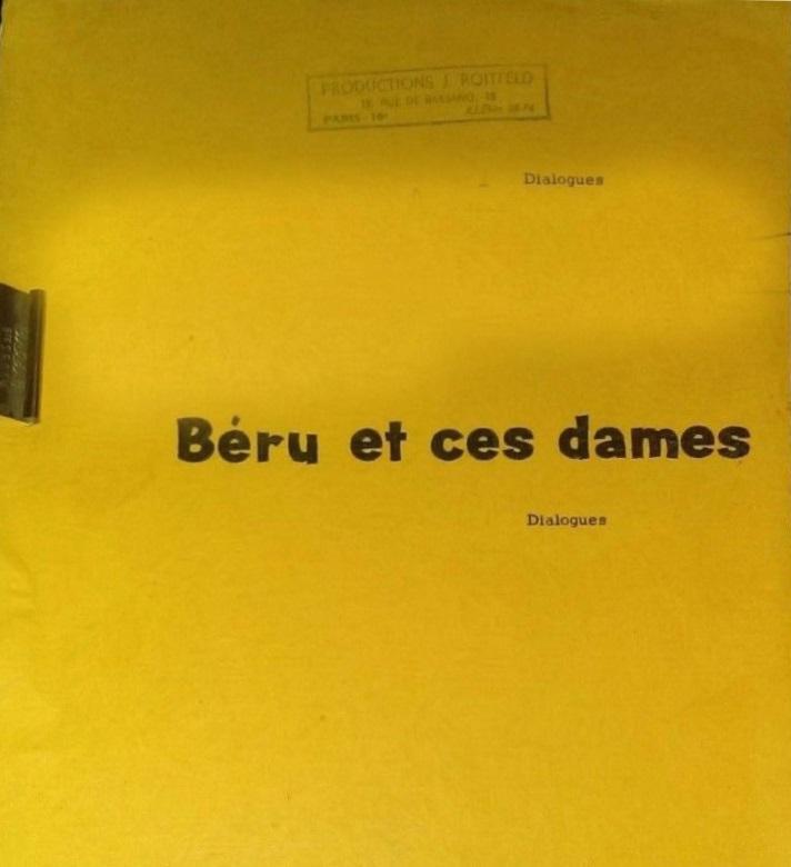 Béru et ces dames - Dialogues