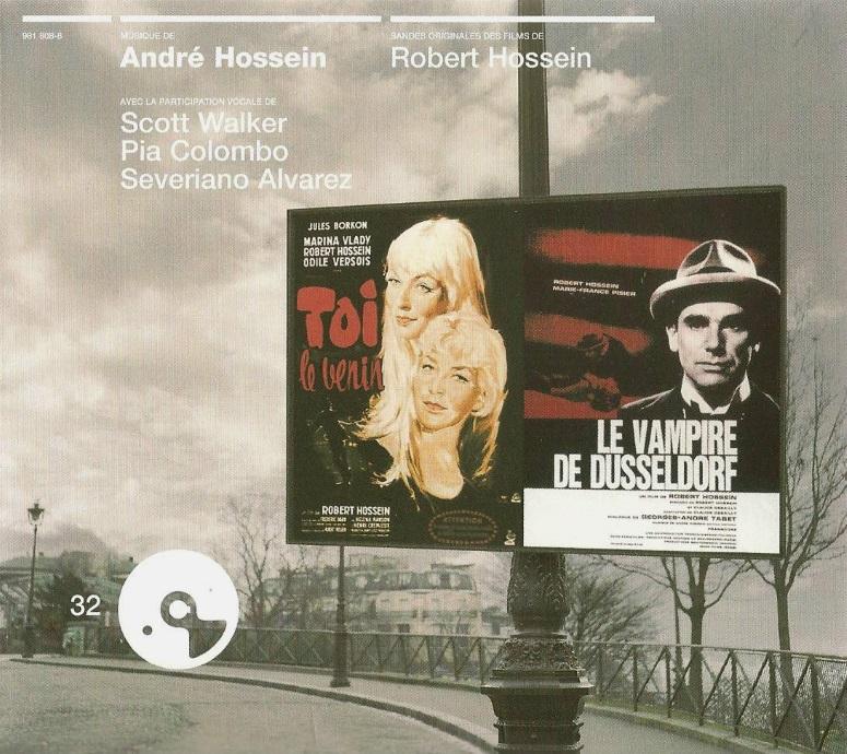 CD musiques films Hossein