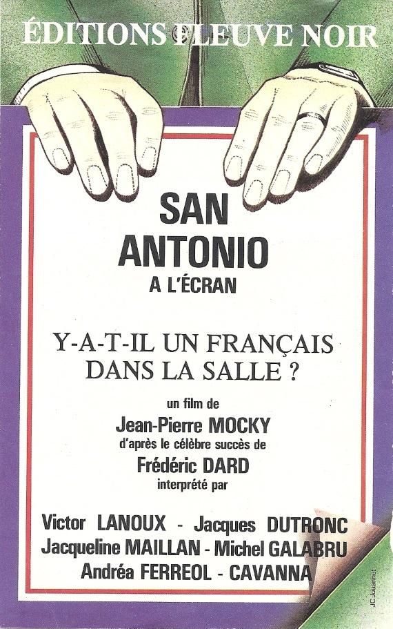 Flyer pub un français dans la salle recto
