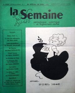 La semaine n°3 ns 15 décembre 1946