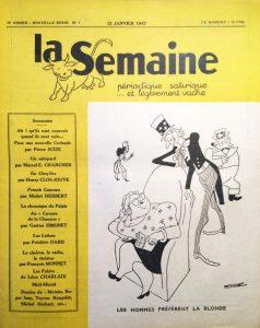 La semaine n°4ns 15 janvier 1947