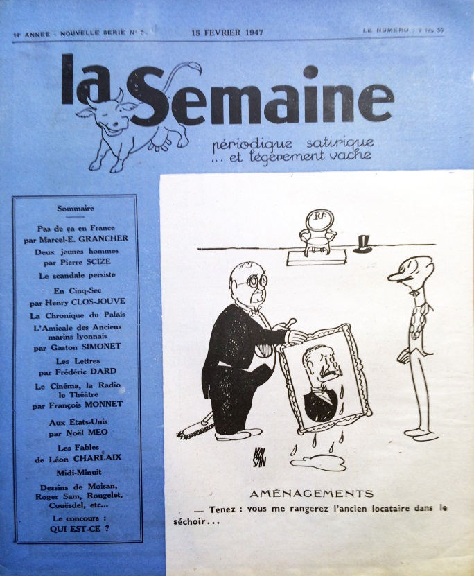 La semaine n°5ns 15 février 1947