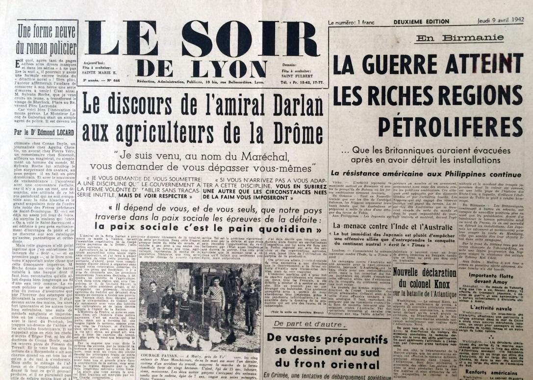 Le Soir de Lyon n°646
