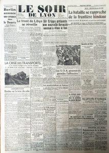Le Soir de Lyon n°647 10 avril 1942